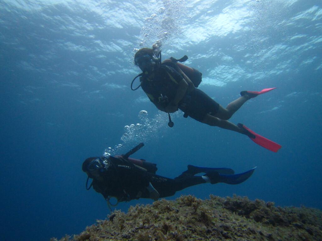 Deep diver sardinia