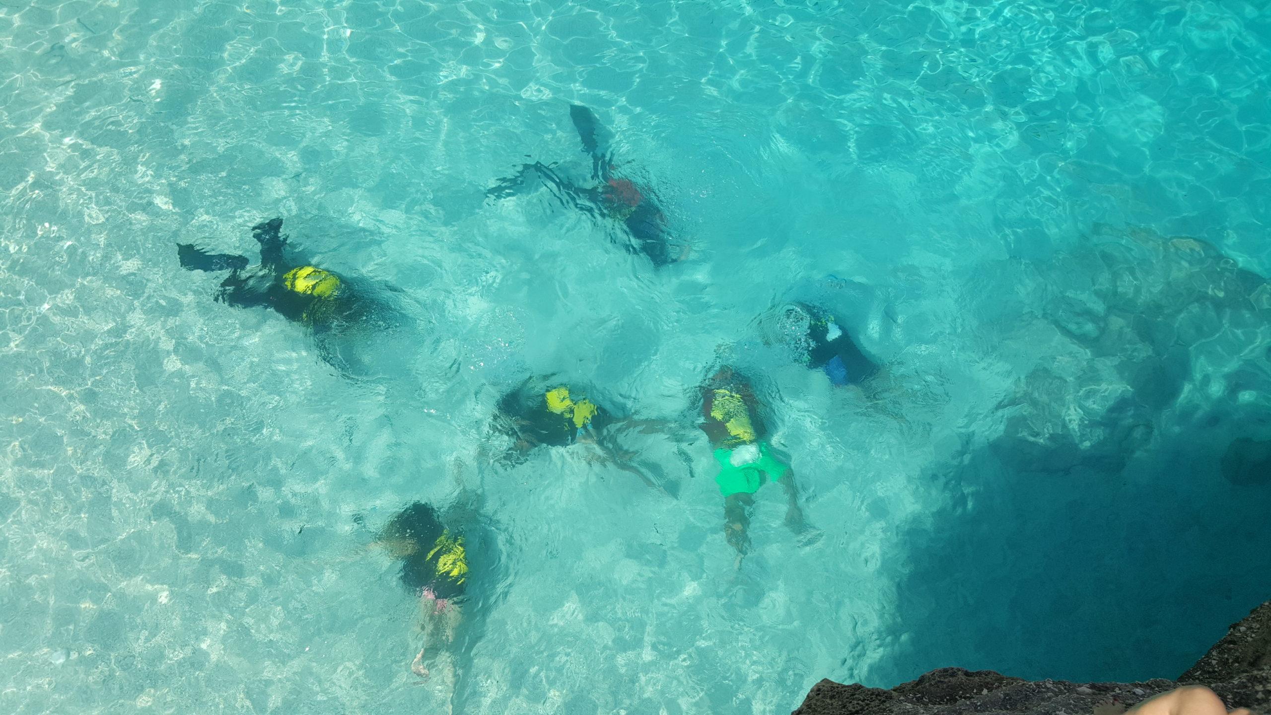 Partenza per i battesimi del mare