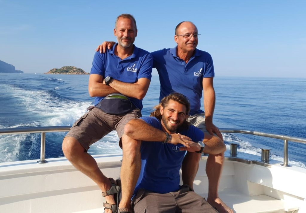 Istruttori diving in sardegna