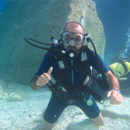 Scuba review a cala Mariolu